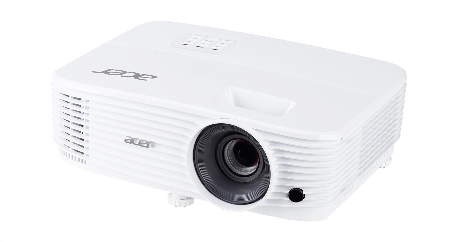 ACER Projektor P1355W - DLP 3D, WXGA, 1280 x 800, 4000Lm, 20000/1, 2xHDMI