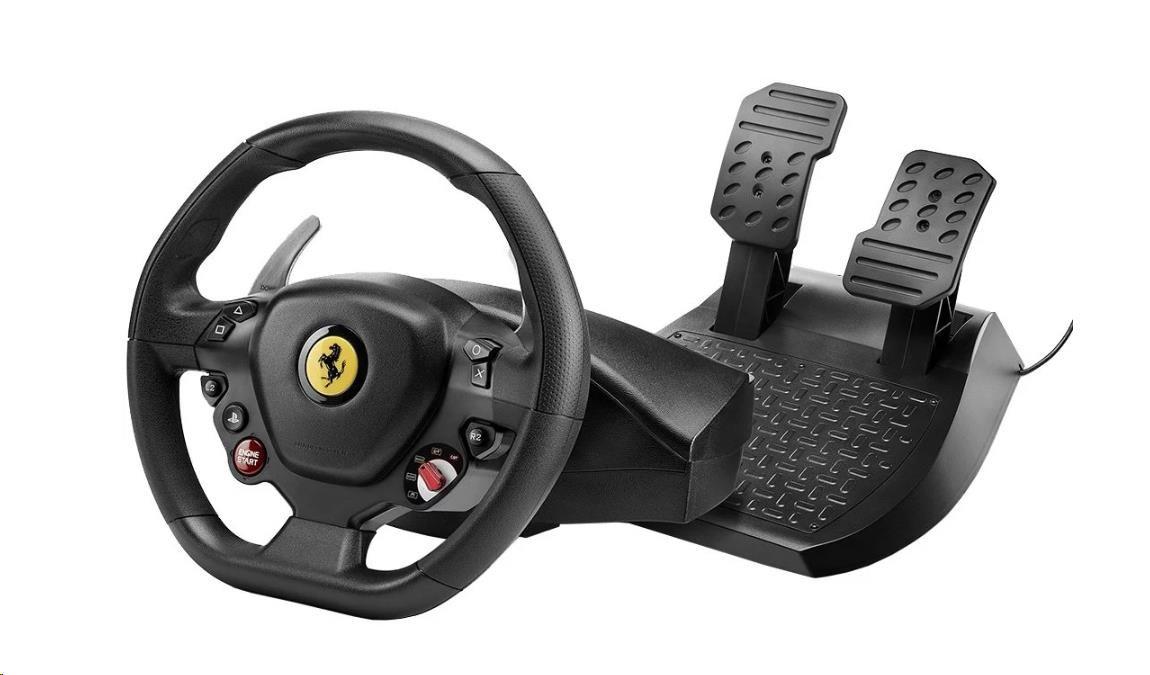 Thrustmaster Sada volantu a pedálů T80 Ferrari 488 GTB Edition pro PS4 a PC (4160672)