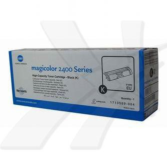 Konica Minolta originální toner A00W432, black, 4500str., 1710-5890-04, Konica Minolta Magic Color 2400, 2430, 2450, 2480, 2500, 2