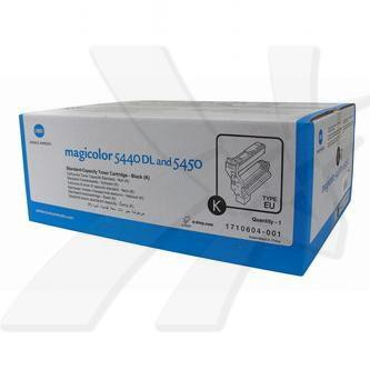 Konica Minolta originální toner 4539434, black, 6000str., 1710-6040-01, Konica Minolta QMS Magic Color 5440DL, 5450