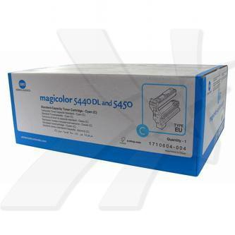 Konica Minolta originální toner 4539334, cyan, 6000str., 1710-6040-04, Konica Minolta QMS Magic Color 5440DL, 5450