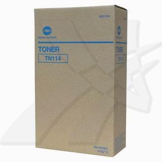 Konica Minolta originální toner TN114, black, 22000 (2x11000)str., 8937-784, Konica Minolta Bizhub 162, 210, Di152, 183, 1611, F,