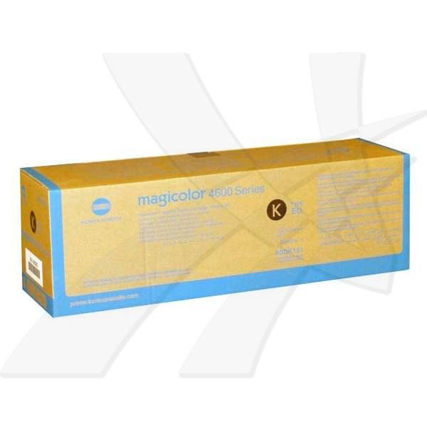 Konica Minolta originální toner A0DK151, black, 4000str., Konica Minolta QMS Magicolor 4600 / 4650 / 4690