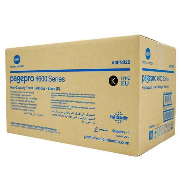 Konica Minolta originální toner A0FN022, black, 18000str., high capacity, Konica Minolta Page Pro 4650EN