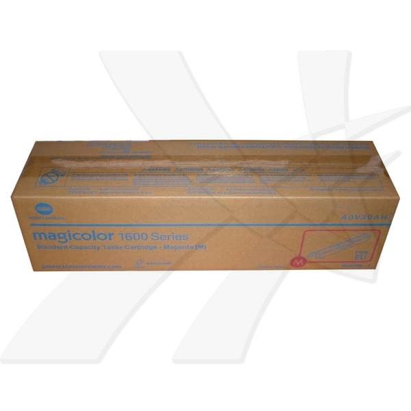Konica Minolta originální toner A0V30AH, magenta, 1500str., Konica Minolta QMS MC1650EN, MC1650END, MC1650, 1600W ,MC1680