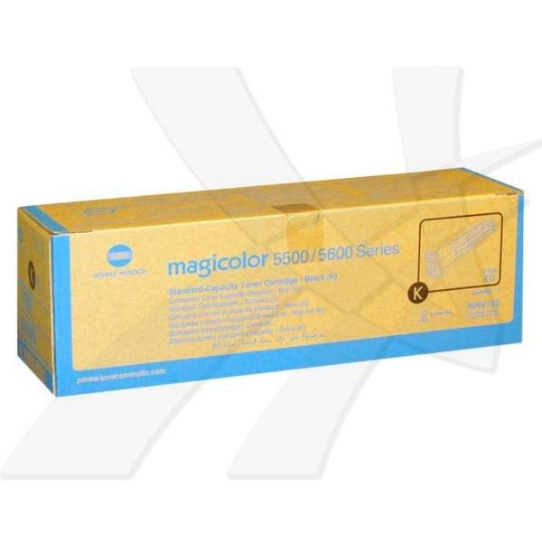 Konica Minolta originální toner A06V152, black, 6000str., Konica Minolta QMS MC5500, 5550, 5570, 5600, 5650, 5670