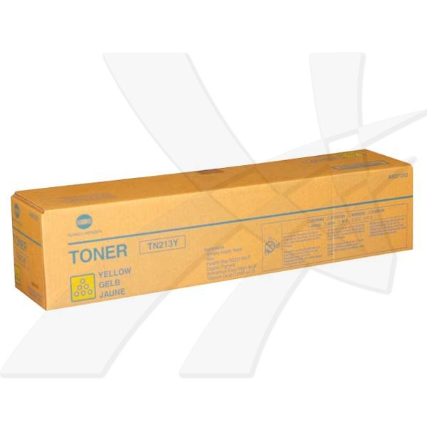 Konica Minolta originální toner TN213Y, yellow, 19000str., A0D7252, Konica Minolta Bizhub C203/C25