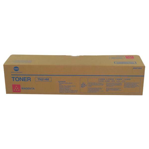 Konica Minolta originální toner TN214M, magenta, 18500str., A0D7354, Konica Minolta Bizhub C200