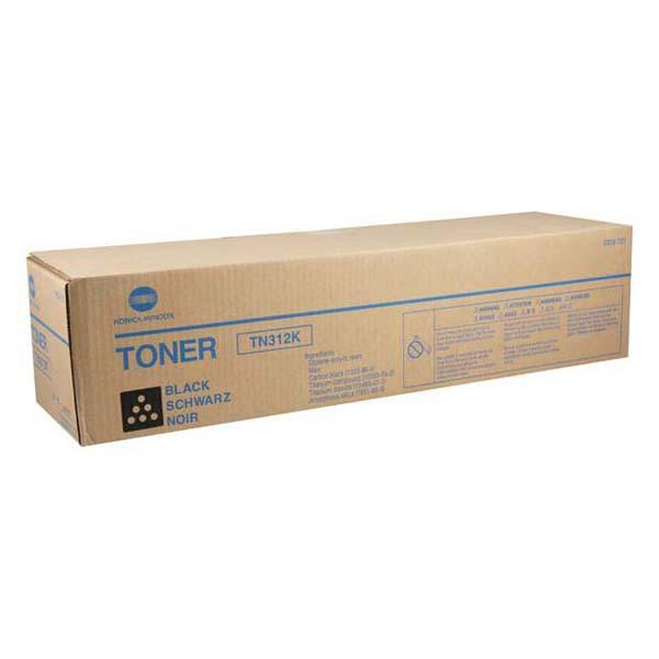 Konica Minolta originální toner TN312K, black, 20000str., 8938-705, Konica Minolta Bizhub C300, C352