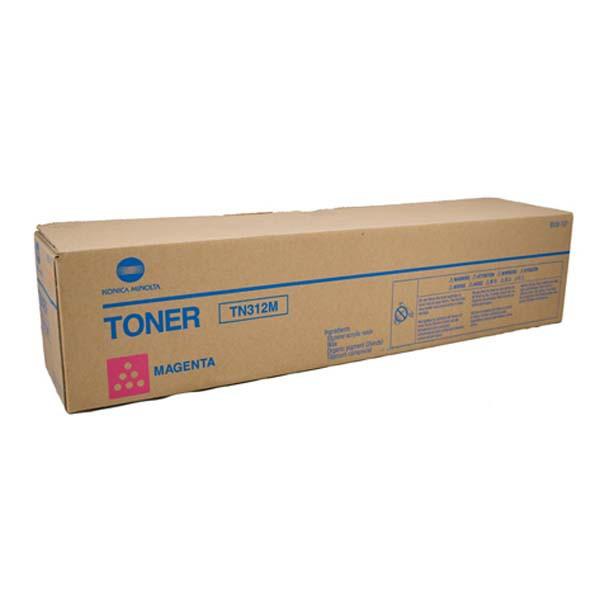 Konica Minolta originální toner TN312M, magenta, 12000str., 8938-707, Konica Minolta Bizhub C300, C352