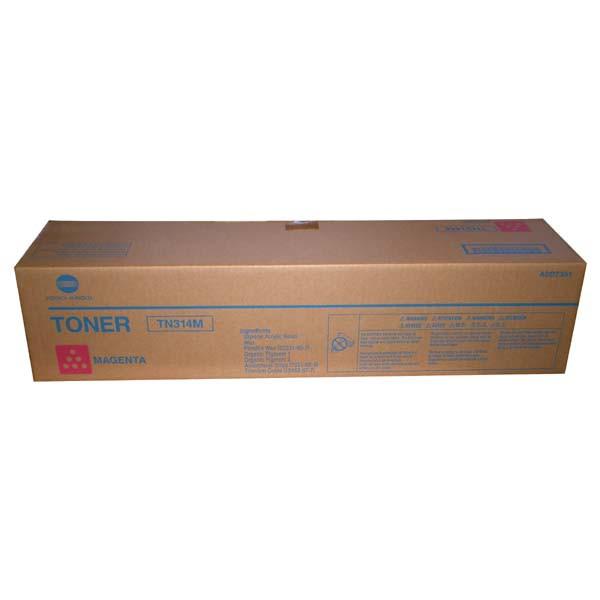 Konica Minolta originální toner TN314, magenta, 20000str., A0D7351, Konica Minolta Bizhub C353