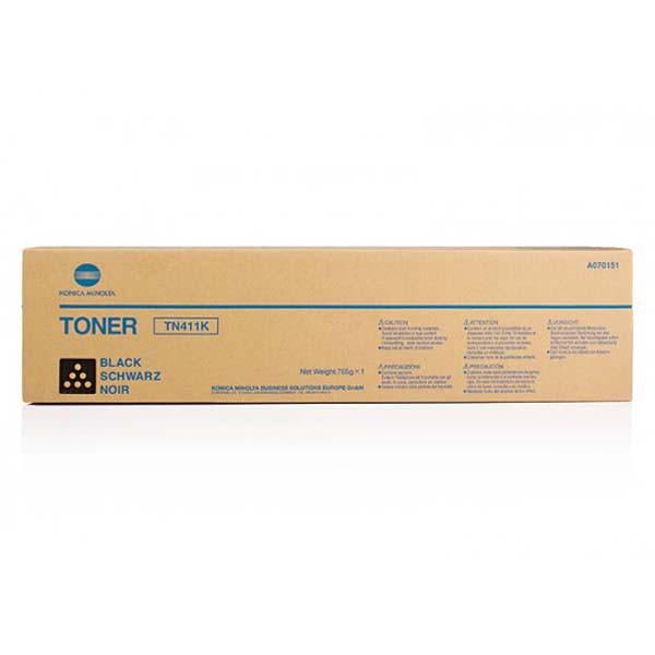 Konica Minolta originální toner TN411, black, 45000str., A070151, Konica Minolta BIZHUB C451, 765g