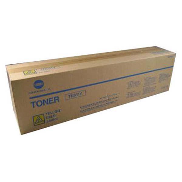 Konica Minolta originální toner A070250, yellow, 27000str., TN611Y, Konica Minolta Bizhub C550