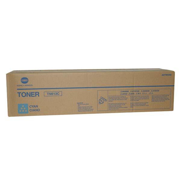 Konica Minolta originální toner A0TM450, cyan, 30000str., TN613C, Konica Minolta Bizhub C552