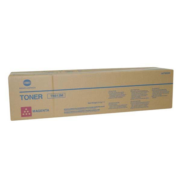 Konica Minolta originální toner A0TM350, magenta, 30000str., TN613M, Konica Minolta Bizhub C552