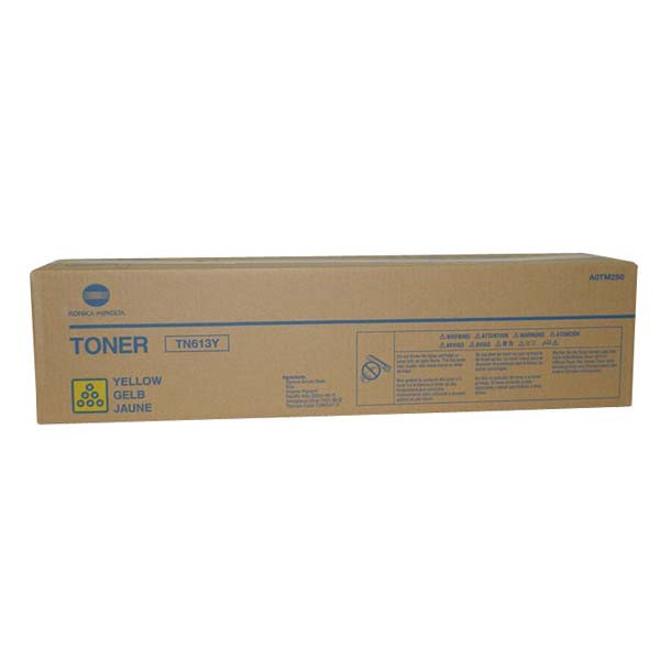 Konica Minolta originální toner A0TM250, yellow, 30000str., TN613Y, Konica Minolta Bizhub C552