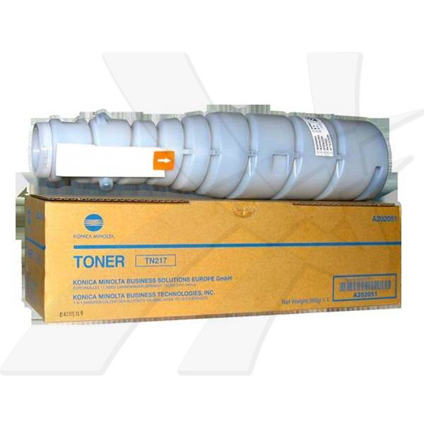 Konica Minolta originální toner TN217K, black, 17500str., A202051, Konica Minolta Bizhub C223/283,