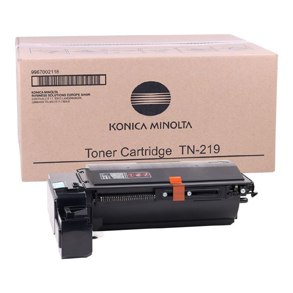Konica Minolta originální toner TN219K, black, 9967002118, Konica Minolta Bizhub 25e