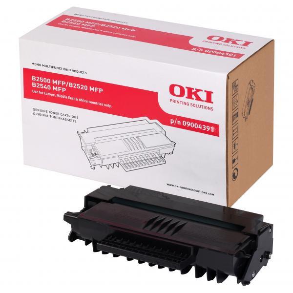 OKI originální toner 9004391, black, 4000str., OKI B2500, 2520, 2540MFP