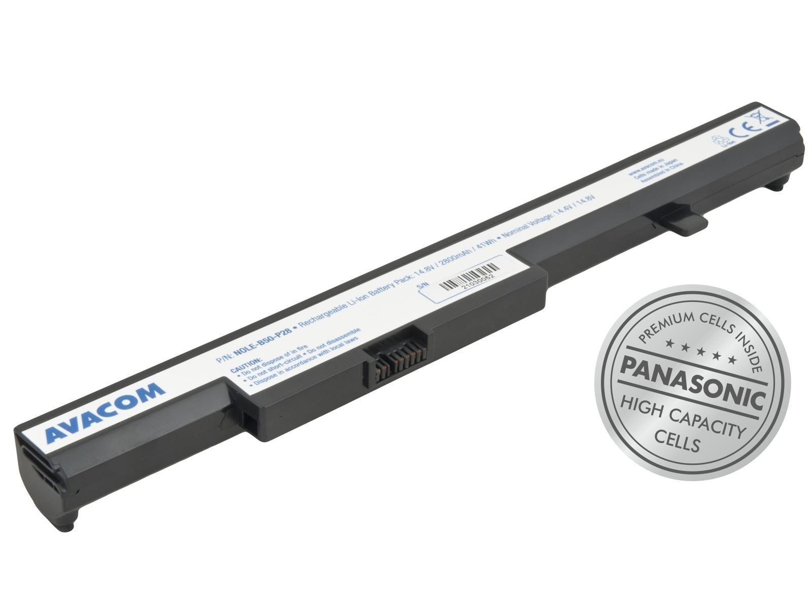 AVACOM baterie pro Lenovo IdeaPad B50 Li-Ion 14, 4V 2800mAh