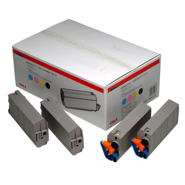 OKI originální toner 1101001, CMYK, OKI C7100, 7300, 7350, V2, 7500, V2
