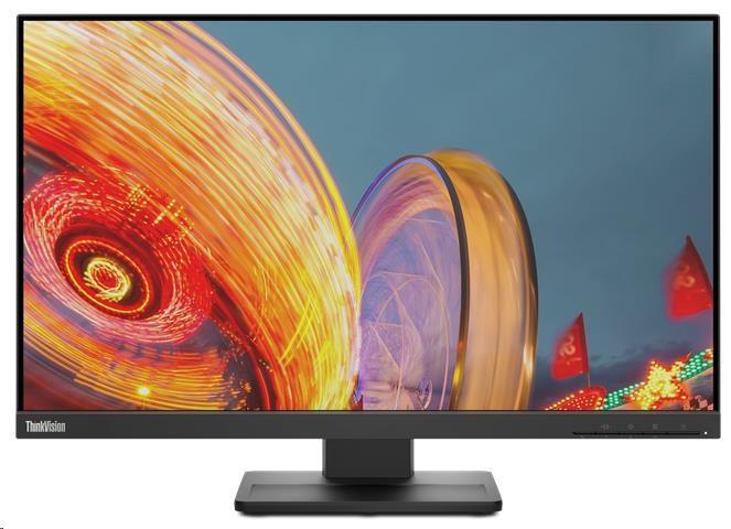 """LENOVO LCD E24q-20 - 23.8"""", IPS, matný, 16:9, 2560x1440, 178/178, 4ms, 300cd/m2, 1000:1, HDMI, DP, P"""
